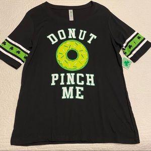 St Patricks Day Donut Graphic T-Shirt
